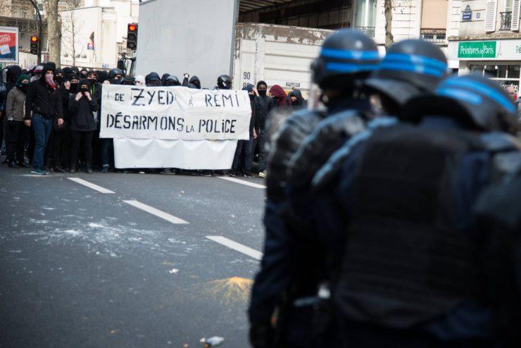 Manifestation contre la loi travail, l'importance de montrer que ces jeunes là gardent en mémoire nos tués par la police.